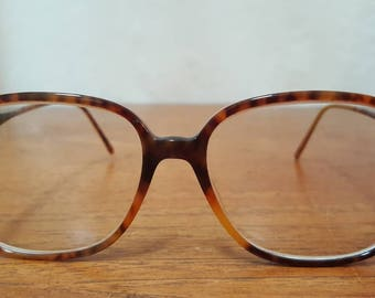 Vintage 80s POLO by RALPH LAUREN Tortoise Shell Preppy Eyeglasses Frames Eye Glass