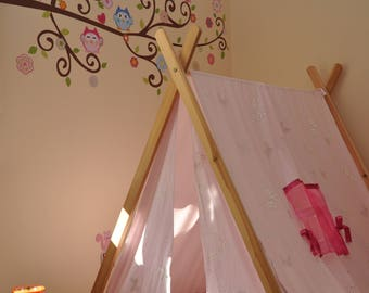 A-Frame Tent, Play Tent, Kids Tent, Childrens Tent, Play Furniture, Canvas Tent, Lawn Tent, Teepee