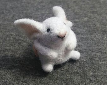 Tiny felted mouse