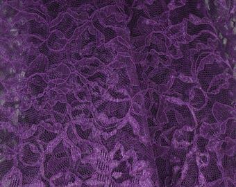 Lace-Deep Purple Lace