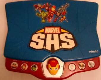 Vtech Marvel Super Hero Squad Learning Laptop