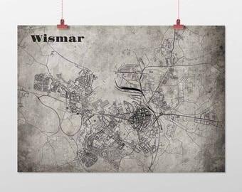 Wismar - A4 / A3 - print - OldSchool