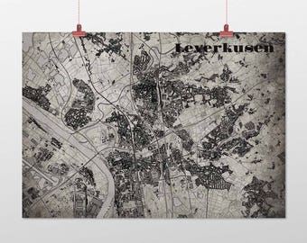 Leverkusen - A4 / A3 - print - OldSchool