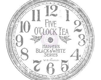 "IOD -Decor Transfer -12"" Clock"