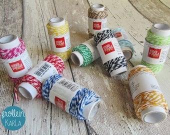 Dekoschnur Bakers Twine 20m diverse Farben