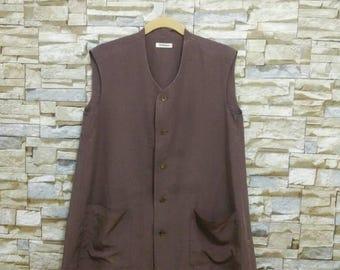 Vintage Issey Miyake By Plantation Shirt Button Medium Rare Designer Fashion Japan Yohji Yamamoto Comme des Garçons Junya Watanabe