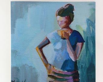 High Quality Premium Giclee Fine art figure painting home decor PRINT