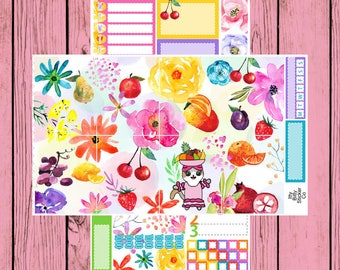Tutti Frutti - Itty Bitty Kitty - chiquita banana Mauly - 2 page mini kit