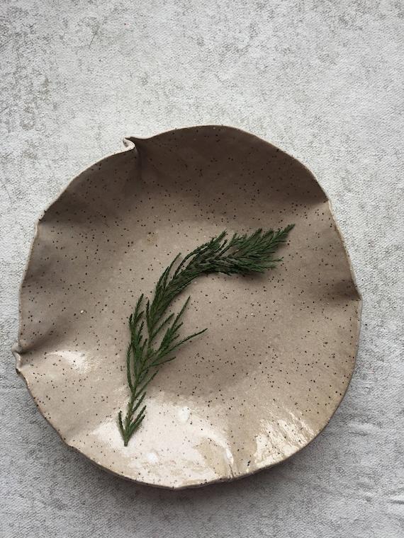 Speckled Crema Bowl