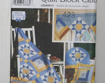 Simplicity 9169 Quilt Block Pattern