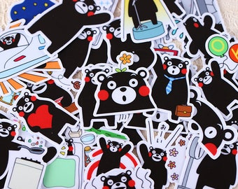 Cute bear stickers,planner stickers, Planner decoration