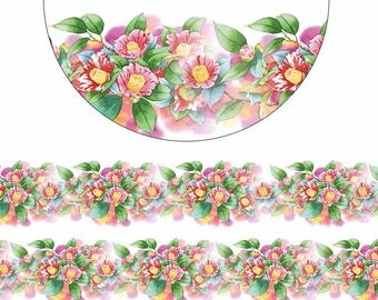 Flower Washi tape