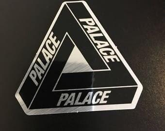 Palace Laptop Sticker | Palace Sticker | Palace | Palace Streetwear