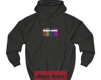 90s Hip Hop Clothing, Hip Hop, Reggae, Stoner Clothing, Dope, Hoodie, Retro, Apparel, Streetwear, LGBT, Pride, Dope Ones™ MS001-02