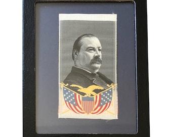 Vintage Grover Cleveland Political Ribbon