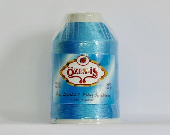 oya Turkish lace crochet polyester no50 thread color 344 Özen Is haakgaren for needle no 21 / 0,55 - 100 gr