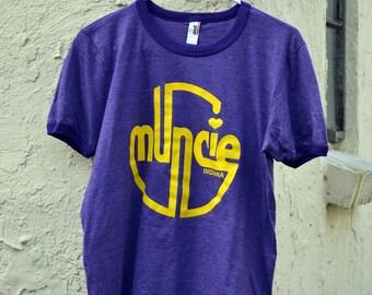 Retro Muncie (purple) / T-Shirt