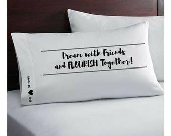 Custom Pillowcase - Autograph - 2017 Flourish Conference Autograph Pillowcase - Special Order - Keepsake