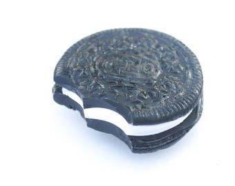 Oreo Polymer Clay Miniature Food Magnet
