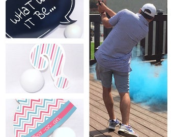 Ships out next day! Golf Ball Gender Reveal Golf Ball Gender Reveal Ideas Gender Reveal Golf Balls Gender Reveal Ideas