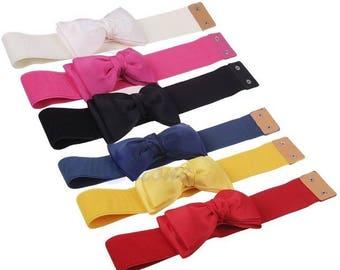 Bow-knot Elastic Waistband (Belt)