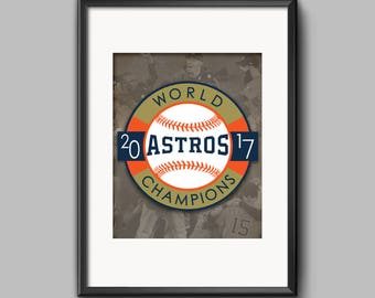 16x20 Houston Astros Man Cave Sports Bar Office Poster World Series 2017 Jose Altuve DIGITAL DOWNLOAD