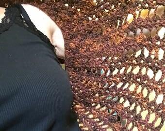Crochet bolero Cape