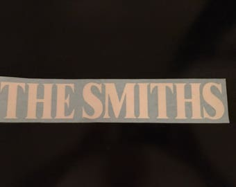 The Smiths vinyl decal