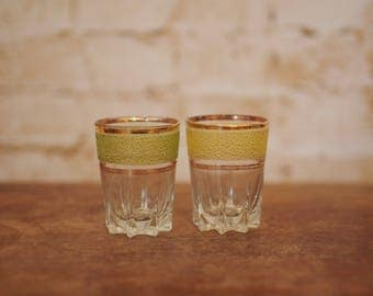 Pair of Vintage Shot Glasses