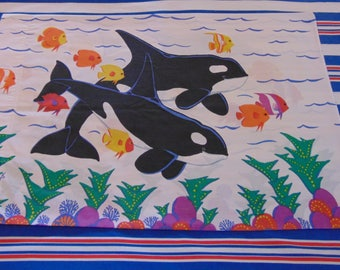 Standard Pillowcase - Dolphins, Orcas & Fish