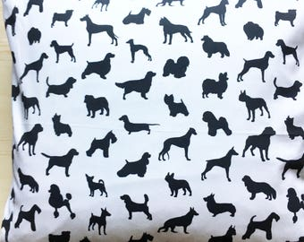 Square Cushion Cover - Must Love Dogs