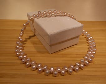 Top Drilled freshwater pearl necklace