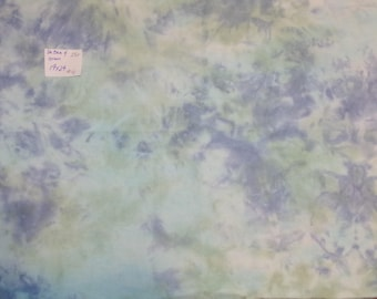 Hand Dyed Cross Stitch Fabric 28ct Monaco   Blue and Green   #41