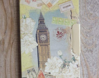 "Notebook ""Romantic traveler"" vintage style"