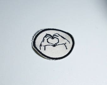 Heart Hands Patch