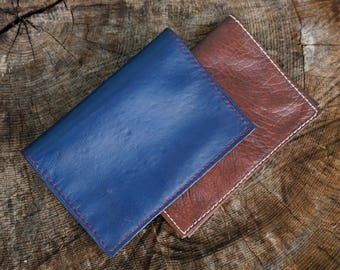 Leather - companion compact wallet