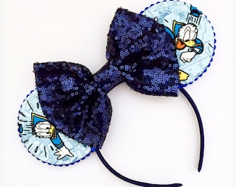 The Duck - Handmade Mouse Ears Headband