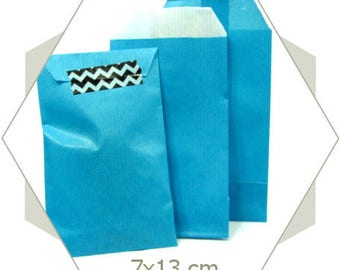 20 PC23 turquoise paper gift bags