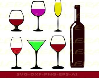 60 % OFF, Wine glass SVG ,Champagne svg, Alcohol svg, Glass svg, dxf, eps, ai, png, Glass svg, svg files, Martini svg, Whiskey svg