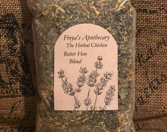 The Herbal Chicken: Better Hen Blend
