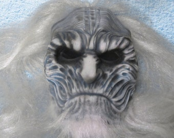 Mask of the White Walker from the Game of Thrones