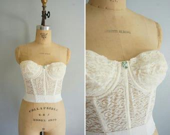 vintage Emmaline bustier | vintage bustier | vintage lingerie