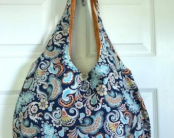 Roomy, Reversible, Machine-washable Bag!