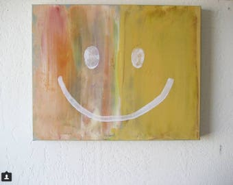 "Love Painting # 177 ""Brighten Your Day"" Original Small Abstract Painting"
