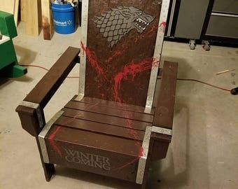 ON SALE Game of Thrones Adirondack Chair