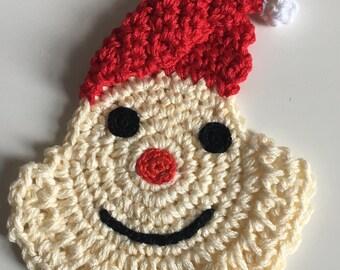 Crochet Santa face