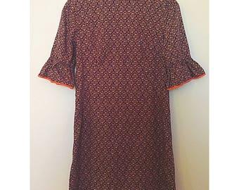 1960s Mod Mini Dress