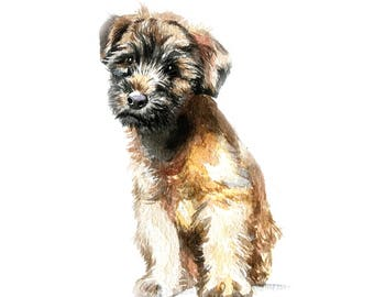 Puppy portrait, dog lover gift, gift for her, dog mom, animal lover gift, gift for dog lover, personalized gift dog owner gift birthday gift