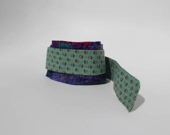 Headband -Hairband - upcycled Tansania #29