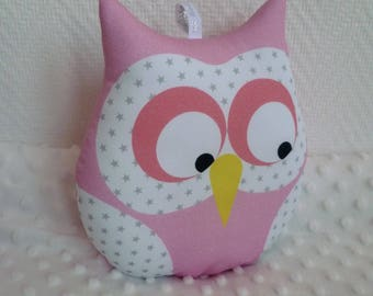 Pomegranate squash with musical OWL cushion